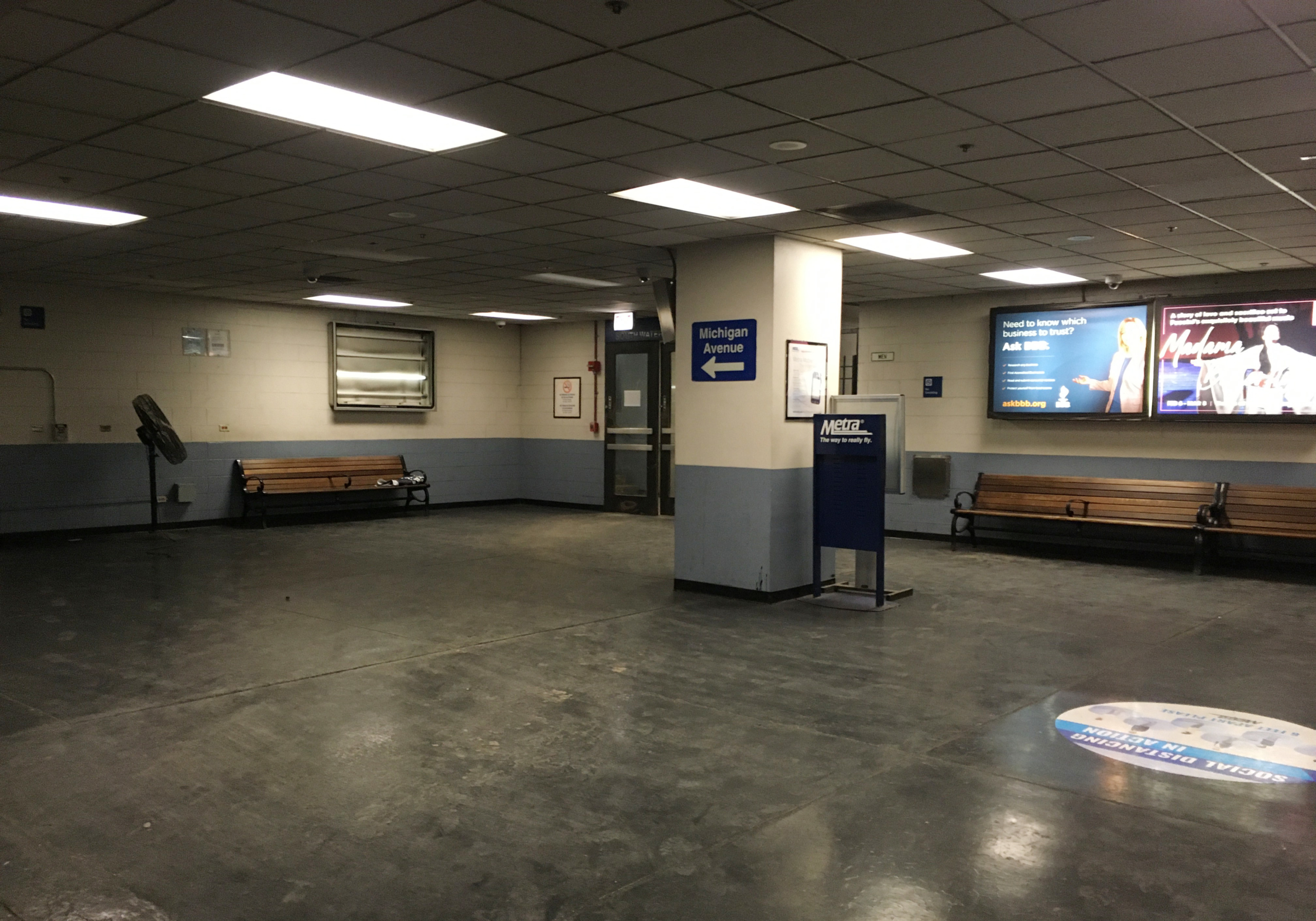 South Water Street Station Lobby