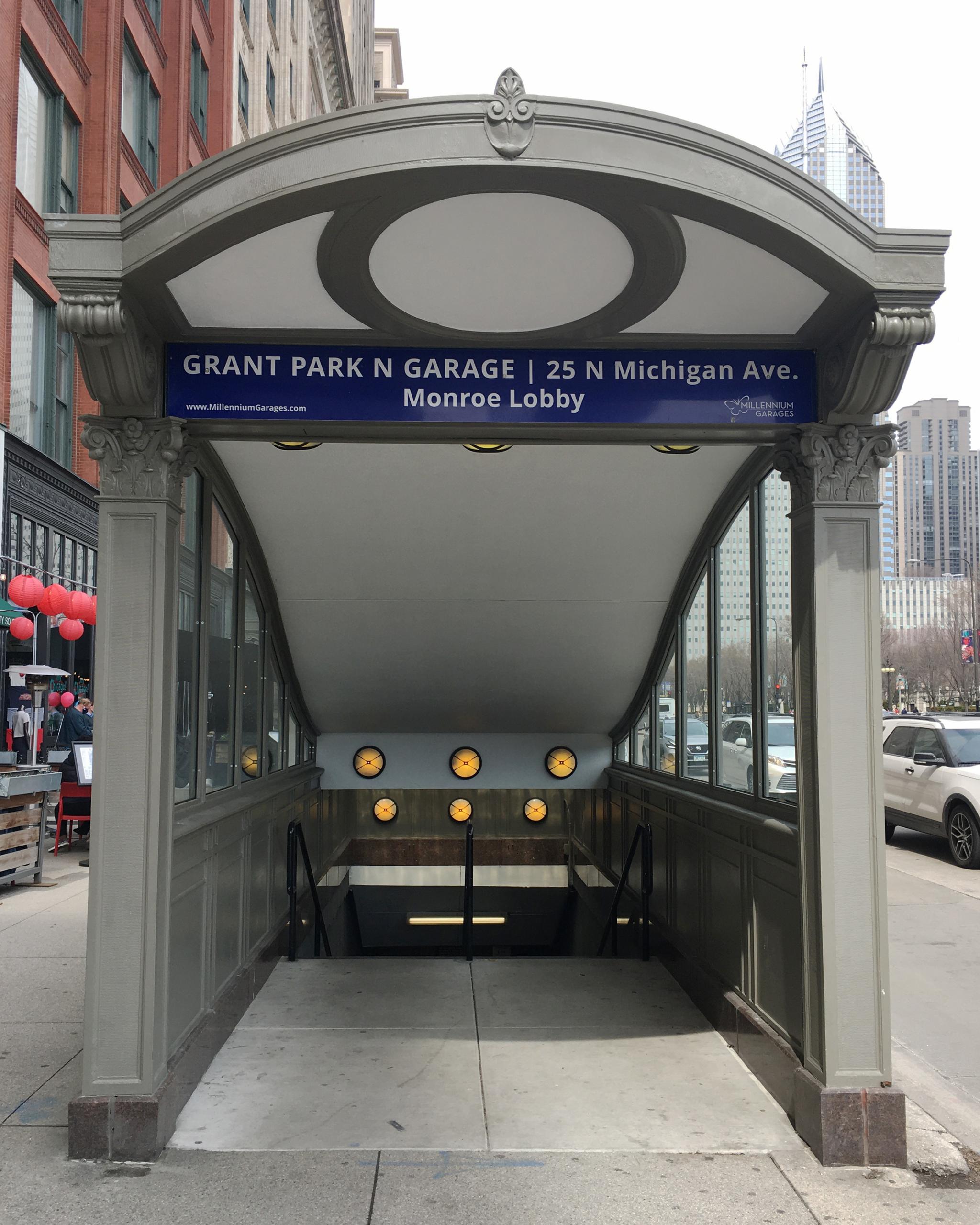 Monroe Street Entrance