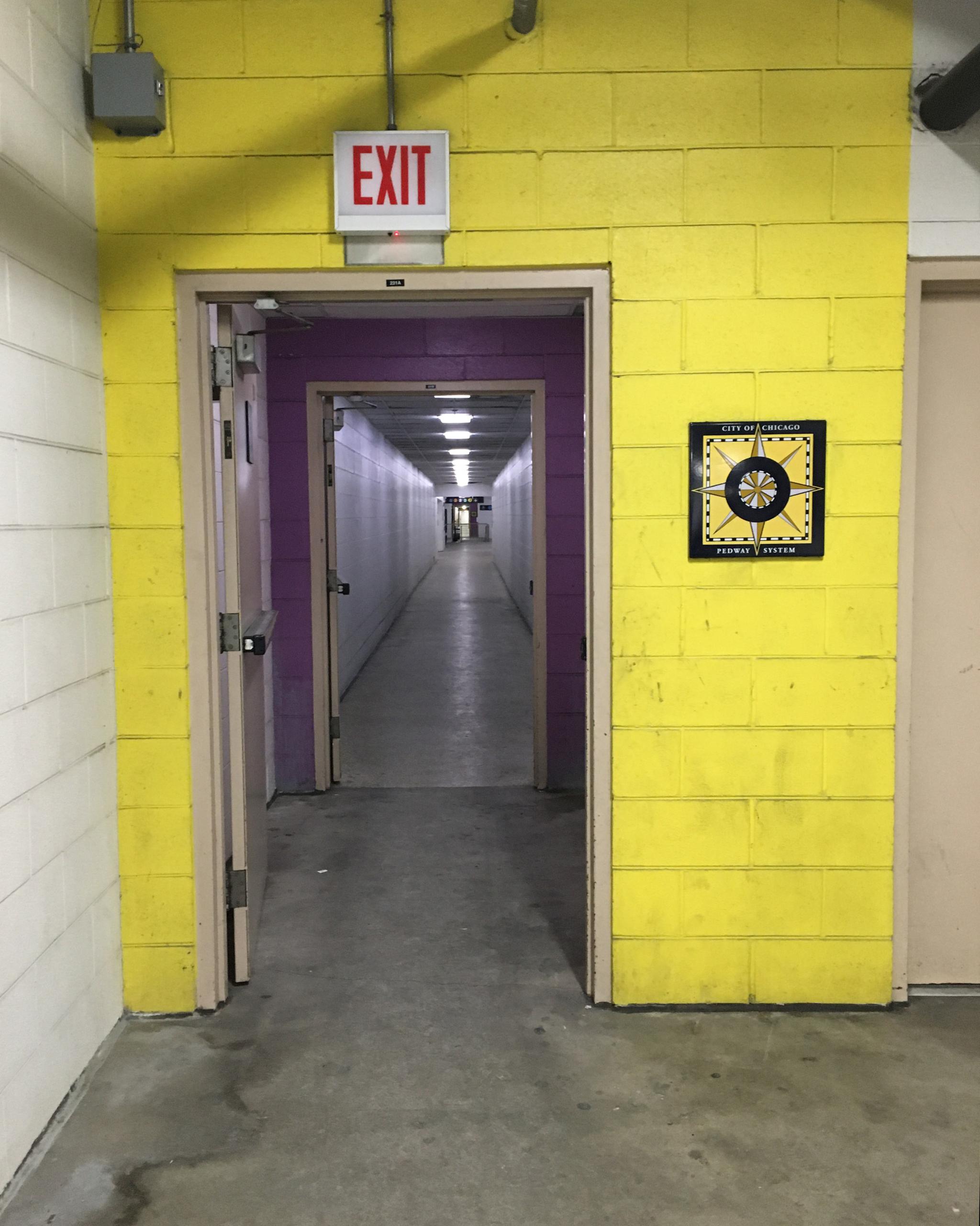 Tunnel to Washington Street Lobby