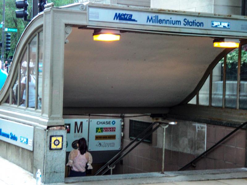 Millennium Station Entrance