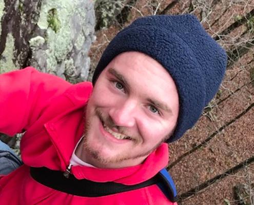 Image of J. Mason Brown smiling